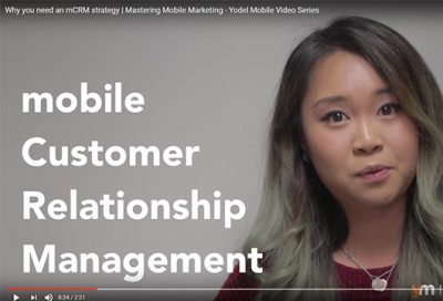 video thumbnail mCRM video series yodel mobile