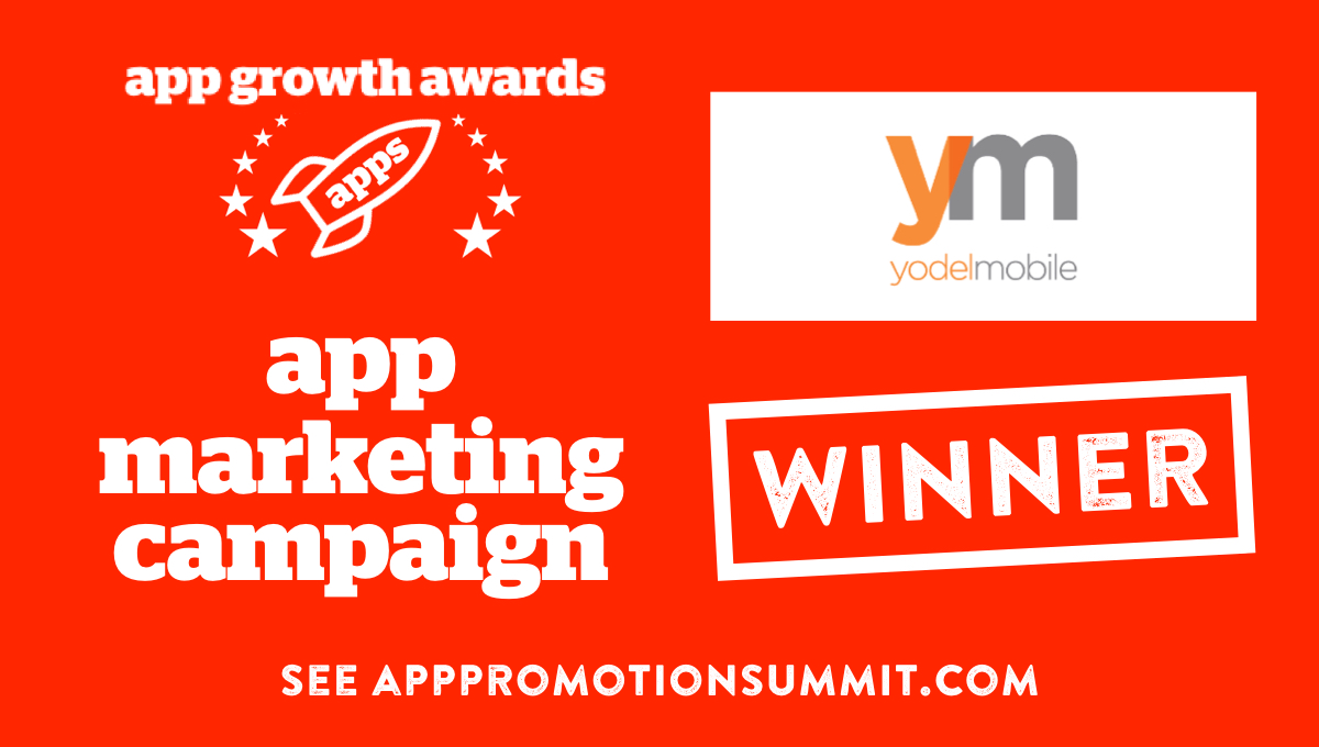 YM win App Growth Awards