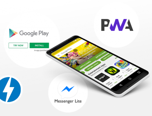 Reconfiguring the mobile space: Lite Apps, Progressive Web Apps, Instant Apps & Google AMP