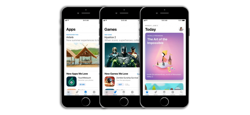 WWDC iOS 11 and App Store Redesign Mobile App Developers
