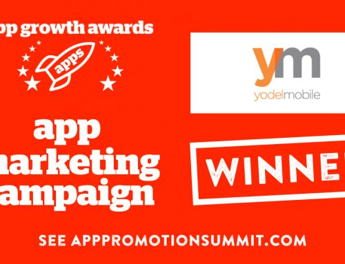 Yodel Mobile win App Marketing Campaign at App Growth Awards 2017