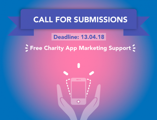 Call for submissions: free app marketing for charity app