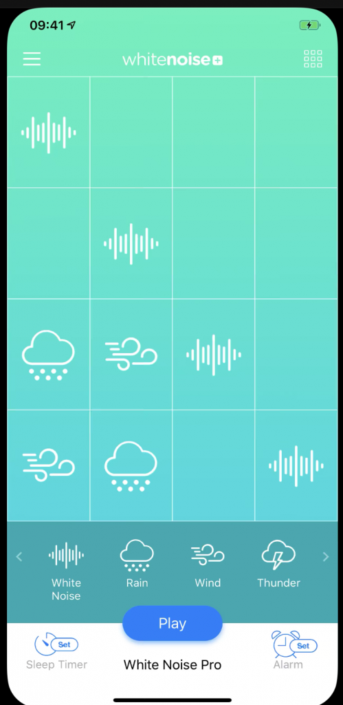 White Noise+ Sound Machine app