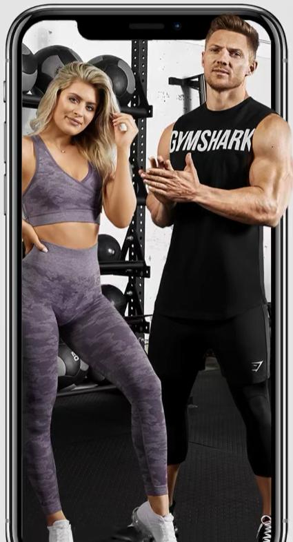 Gymshark fitness app